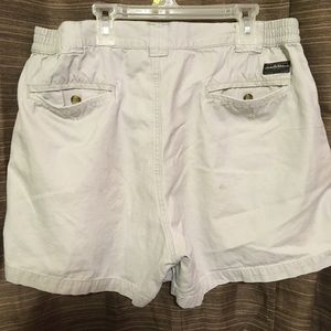 White Sierra Shorts - White Sierra Khaki Shorts